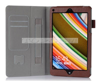 Wholesale Lenovo ThinkPad Tablet inch Luxury PU Leather Flip Folio Smart Case Stand Cover with Card Slots Hand Strap