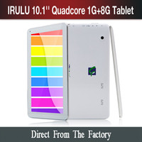 "New Arrival! iRuLu 10. 1"" Quad Core 8GB Tablet PC Androi..."