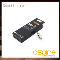 Cheap Aspire Nautilus Coils For Aspire Nautilus Atomizer Bottom Dual Coil 16ohm 1.8ohm Electronic Cigarette Clearomizer Nautilus Replacement Coil