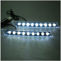 Wholesale 2x9 LED W Day Driving Lights Fit Audi C5 A6 S6 Q5 Q7 BMW E90 E92 Lexus GS350