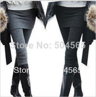 Wholesale KZ One Piece Women s Skirt Leggings Fashion Skirt With Pants Skinny Pencil Pants Casual Wear Colors