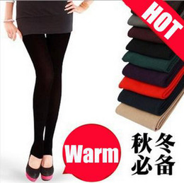 Wholesale Min order Leggings womens winter clothes warm Sexy thick
