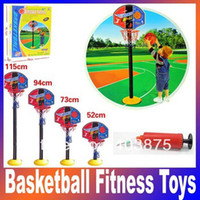 2 to 4 Years Unisex Volleyball Super Basketball Sport Set Game Toy child fitness toys adjustable indoor outdoor Kids casual Fun & Sports Children's day gift