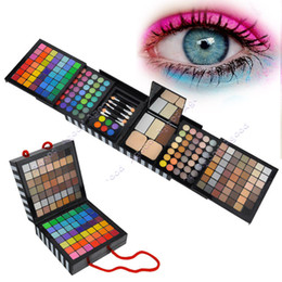 Wholesale Eye Shadow Palette Cheek Blush Lip gloss Fashion Makeup Set Mini Eye Brush SV000423