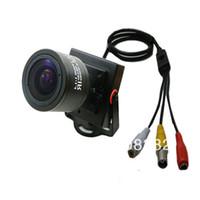 CCD audio d - HD TVL Sony CCD Effio e H mm Manual Focus Zoom Lens Mini CCTV Home Security Tiny FPV A V Audio Mic Camera OSD D WDR