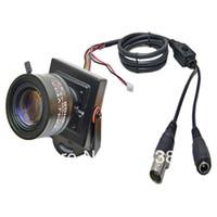 700TVL Indoor CCD HD 700TVL 1 3'' Sony CCD Nextchip 9-22mm Manual Focus Zoom Lens Mini CCTV Security Home Surveillance Tiny FPV Video Camera OSD D-WDR