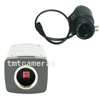 "700TVL Indoor CCD HD 1 3"" SONY CCD Effio-E 700TVL 2.8-12mm Auto Iris CS Lens CCTV Home Surveillance Security Box Bullet Varifocal Zoom Camera OSD D-WDR"