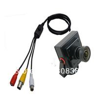 audio d - HD TVL Effio e Sony CCD H mm Wide Angle Mini CCTV Home Surveillance Security Tiny FPV Audio Mic Camera OSD D WDR