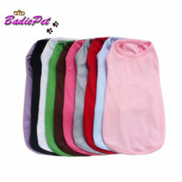 Wholesale Retail Top Quality Blank Dog Tank Top Colors Sizes Available off for