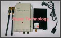 Black 1.2g wireless camera - 700mW WIRELESS Security CCTV Camera G receiver G wireless kits wireless camera High quality sensor camera wireless