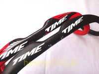 Wholesale 2014 Newest TIME road full carbon fiber bicycle handlebar carbon bike Handlebar mm black red white