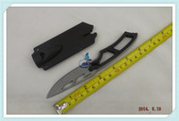 Wholesale 5pcs Survival Knife SW SW990 Sentinel Steel Knife Whistle Knife Hunting Silver A271