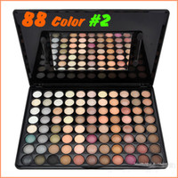 HH0387 88 colors Powder 88 Colors Eye Shadow Makeup Set WARM Series #2 for Nude Makeup Eearth 88color Eyeshadow Pallet