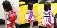 Wholesale NEW Buttefly bag Children s Backpack Baby Harness BackPacks Lunch Spider School bag DZY960H