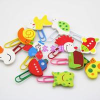 Wholesale Convenient multi purpose wood clip book clip photo clip decoration set
