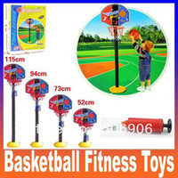 2 to 4 Years Unisex Volleyball Super Children Basketball Sport Set Game Toy child fitness toys adjustable indoor outdoor Kids casual Fun & Sports