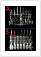 Electronic Cigarette display rack for ecig ego battery and mech mod Acrylic e cig display rack stand shelf holder box for innokin itaste 134 ecig e juice bottle hades mech mechanical mod rda rba atomizer DHL
