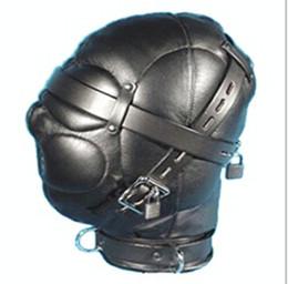 Wholesale PVC SLEAVE Hood hoods Head bondage fully enclosed fun headgear masks robber dog slave hoods suf