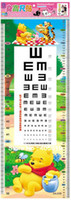 Peel & Stick height measurement ruler - 32 cm Cartoon Kids Sticker Charts Height Ruler Also Sight Vision Measurement Mixable Models Resell Packing