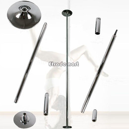 Wholesale Portable Dancing Pole Training Silver Pole With Tools Stripper Pole Dance Games Dance Club