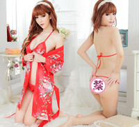 Cheap Sexy Sexy Lingerie Set Best Robe Sets Chiffon sexy lingerie