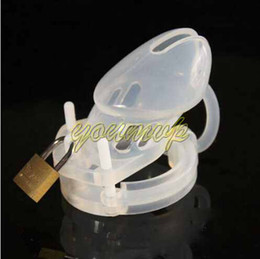 Wholesale Silicone CB6000S CB3000 male penis lock Chastity device for male adult products