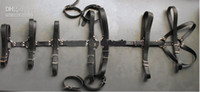 Cheap Unisex Bondage Binder Best  BDSM Restraints   Leather Body Harness