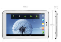 Wholesale 3G Phone Call Tablet PC inch sanei G708 dual core g MTK8312 dual core Android Bluetooth Dual Camera X600