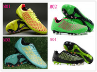 Wholesale Hot New Fashion Mens Outdoor Football Shoes Magista Opus Volt Metallic Gold Coin Hyper Punch FG Soccer Shoes Brand Mens Soccer Boots