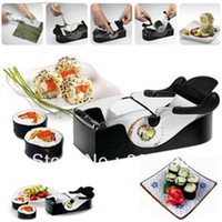 ECO Friendly Ceramic Sushi Tools 1 pcs Roll Sushi Mold model Easy Sushi Maker Roll Ball Cutter Roller Rice Mold DIY kitchen accessories Tool FreeShipping