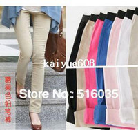 Wholesale high quality New leggings for women Korean cotton Flexible Leggings pencil pant trousers