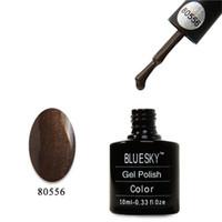 Gel Polish shellac nail polish - Cheap Creative Bluesky Gel Polish for Ladies Practical Popular Soak Off Shellac Nail Varnish ML Volume Sale