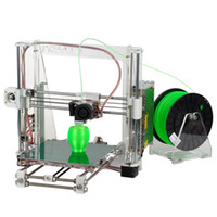 Wholesale 2014 Open Heacent Reprap Prusa i3 D Printer DIY Full Assembly Kit mm Nozzle Use mm Filament Easy Assemble