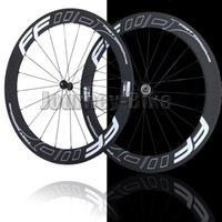 Road Bikes 12 Inch Front Wheel FFWD F6R Fast forward 60mm clincher bicycle wheels freewheel Carbon fiber road and racing cycling wheelset