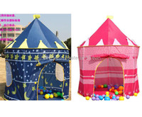 Wholesale Ultralarge paragraph child tent toy game house princess tent baby toy house tent