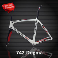 Wholesale T1000 carbon white red Pinarello Dogma Think Bianco carbon road bike frame Racing cycling bicycle frame frameset