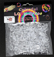 Wholesale Clear S C Clips for DIY Loom Bands Bracelet Making