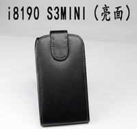Cheap For Samsung samsung i8190 case Best Leather Black leather case