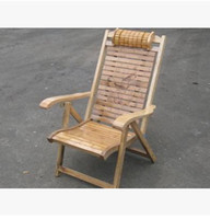 Wholesale Solid wood chairs Bamboo chair Bamboo chair siesta chair folding beach chair chair recreational chair the balcony