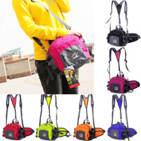 Wholesale Traveling Money Passport Waist Packs Multifuctional bicycle hiking outdoor shoulder messenger small sport bags AC59 salebags