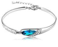 Wholesale in Europe and America fashion sterling silver bracelet zircon bracelets