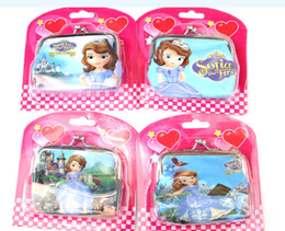 Sofia first Kids' Watch with Wallet Sets Lots Wholesales 24 pcs Gift Idea