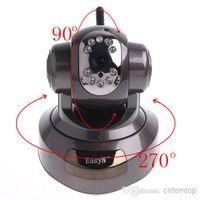 Wholesale EasyN Wireless IP Camera Dome Webcam Cam Surveillance System Security Camera Cameras Wifi Network S63B Mini HD CCTV Surveillance CMOS LED