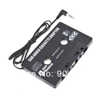 Wholesale Compact and portable Car Cassette tape adapter for MP3 Player CD