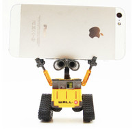 Unisex 3 & 4 Years Robots Wholesale-Free Shipping 2Piece Children's Gift Walle Robot Toy Car 12cm Wall-E Walle Robot Intelligent