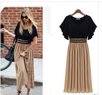 2014 new European and American And the wind knit Chiffon spl...