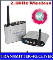 Wholesale New GHz Wireless AV Transmitter and Receiver A V Sender Channels m original