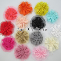 accessories for babies garment - Silk Lace Flower flower for headband baby girls hair accessorise Garment Accessories colors in stock HH020