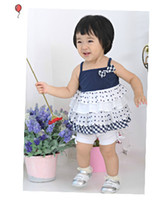 TuTu Summer A-Line Wholesale children girls summer suit vest suit for girls sling cake T X595 batch 25 * 5