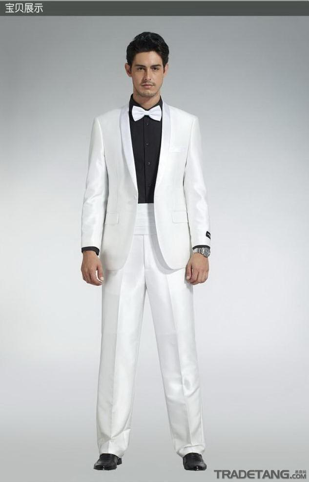 Custom Made High Quality New Style Suits Formal Groom Tuxedo For